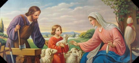 heiligefamiliechromolithographiec1930